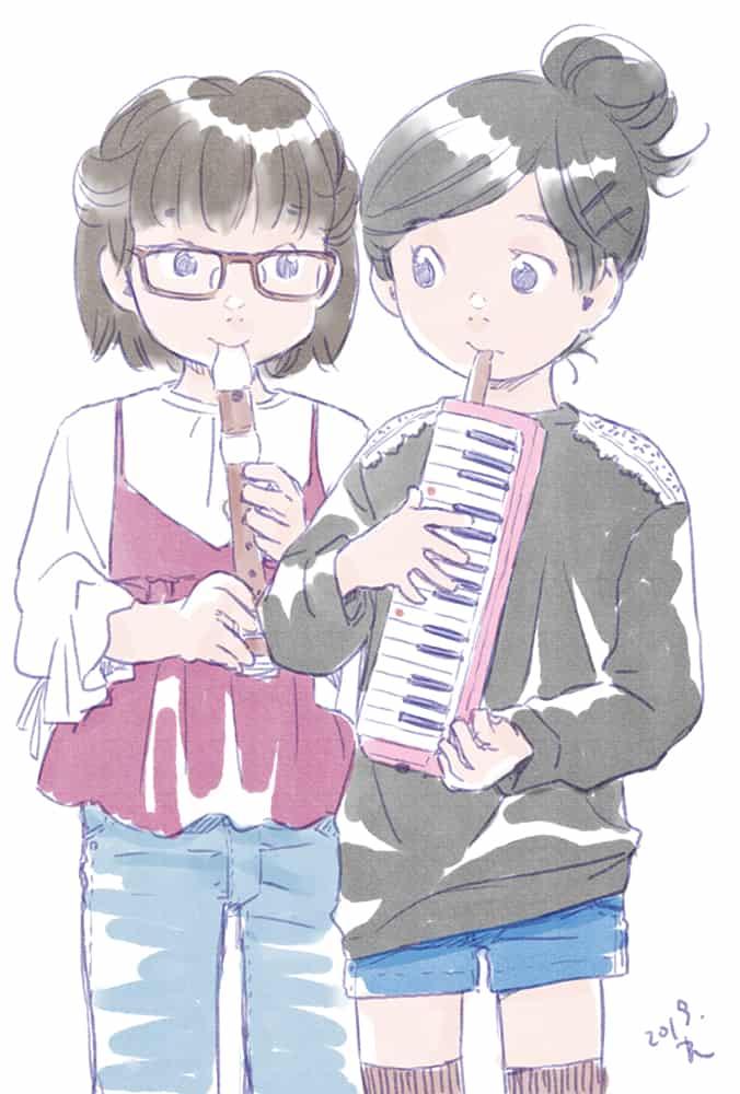 音楽会 Illust of 梅川和実 girl original