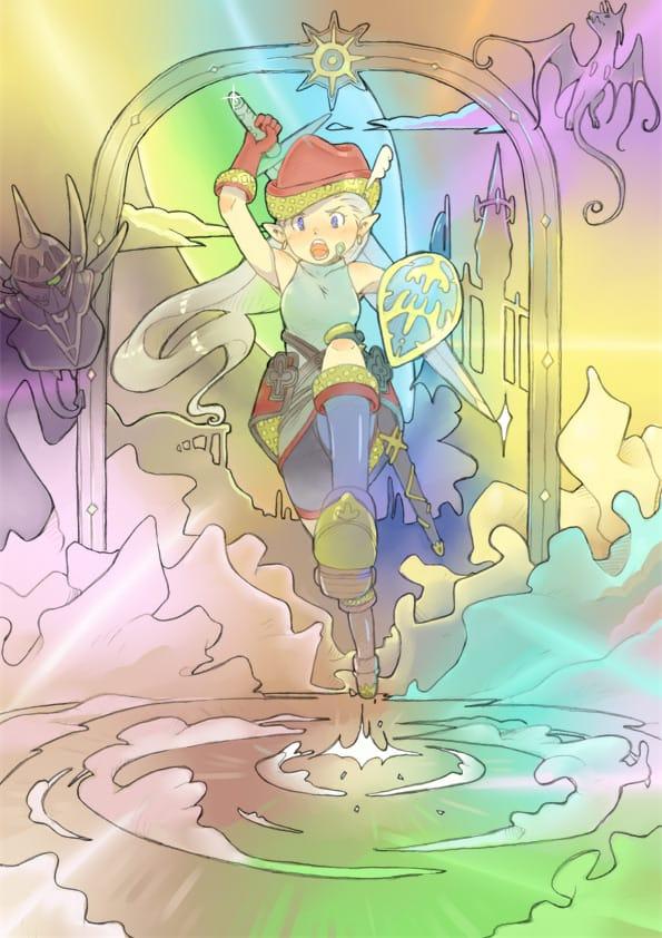 斬る! Illust of かみむらあき fantasy 小さな幻想 illustration