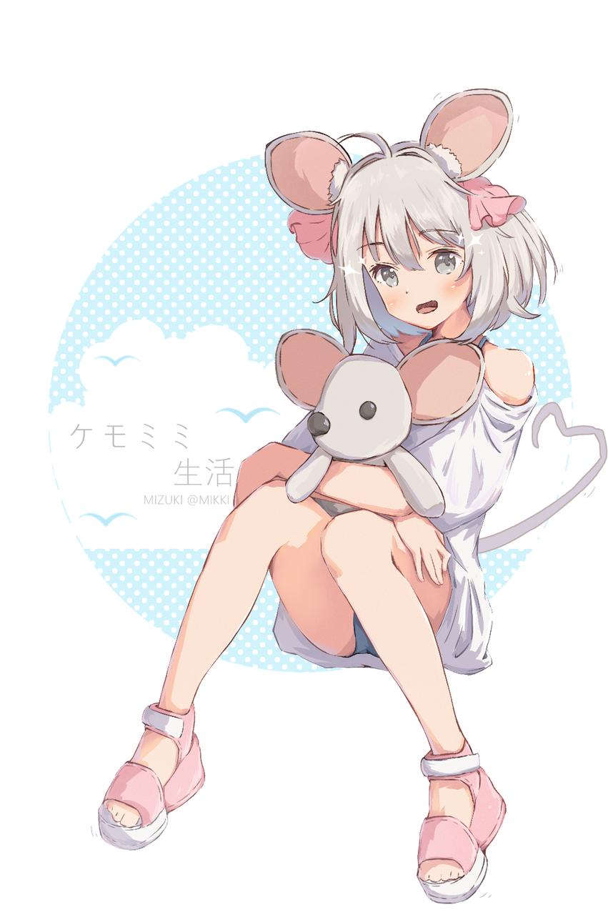 🐭ケモミミ生活🐭 Illust of みずき@ミッキー original girl cute art medibangpaint