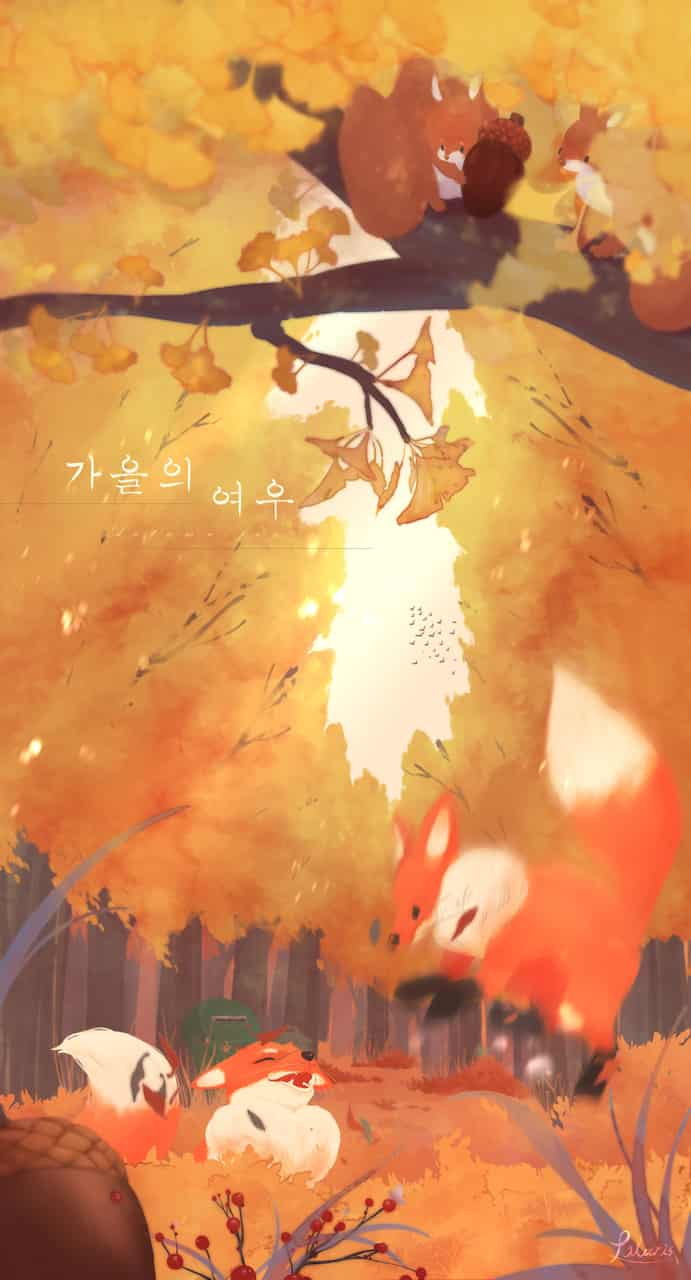 秋天狐狸 /Autumn Fox