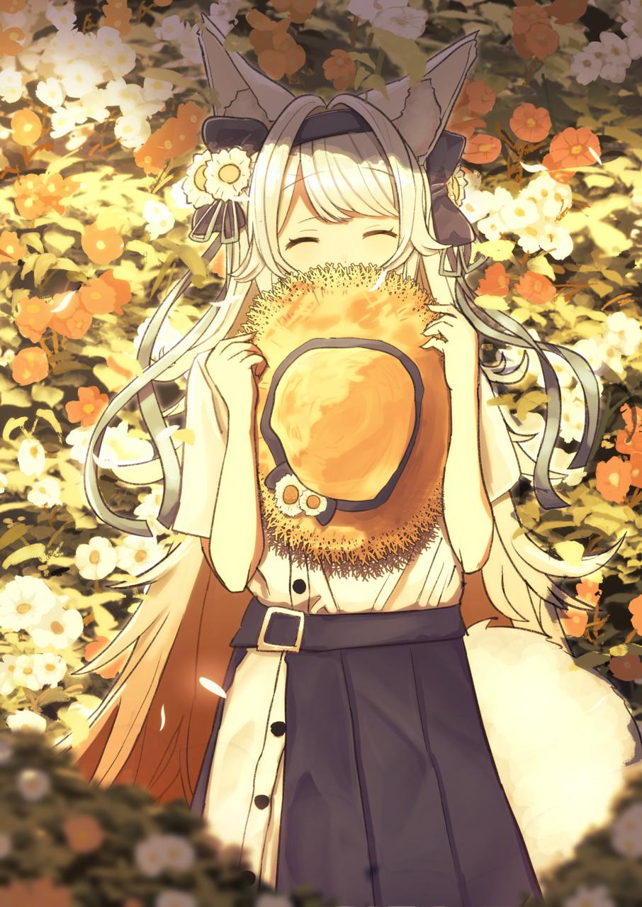紅狼サツキ Illust of ぽんた🐺🌻 紅狼サツキ girl virtual_YouTuber