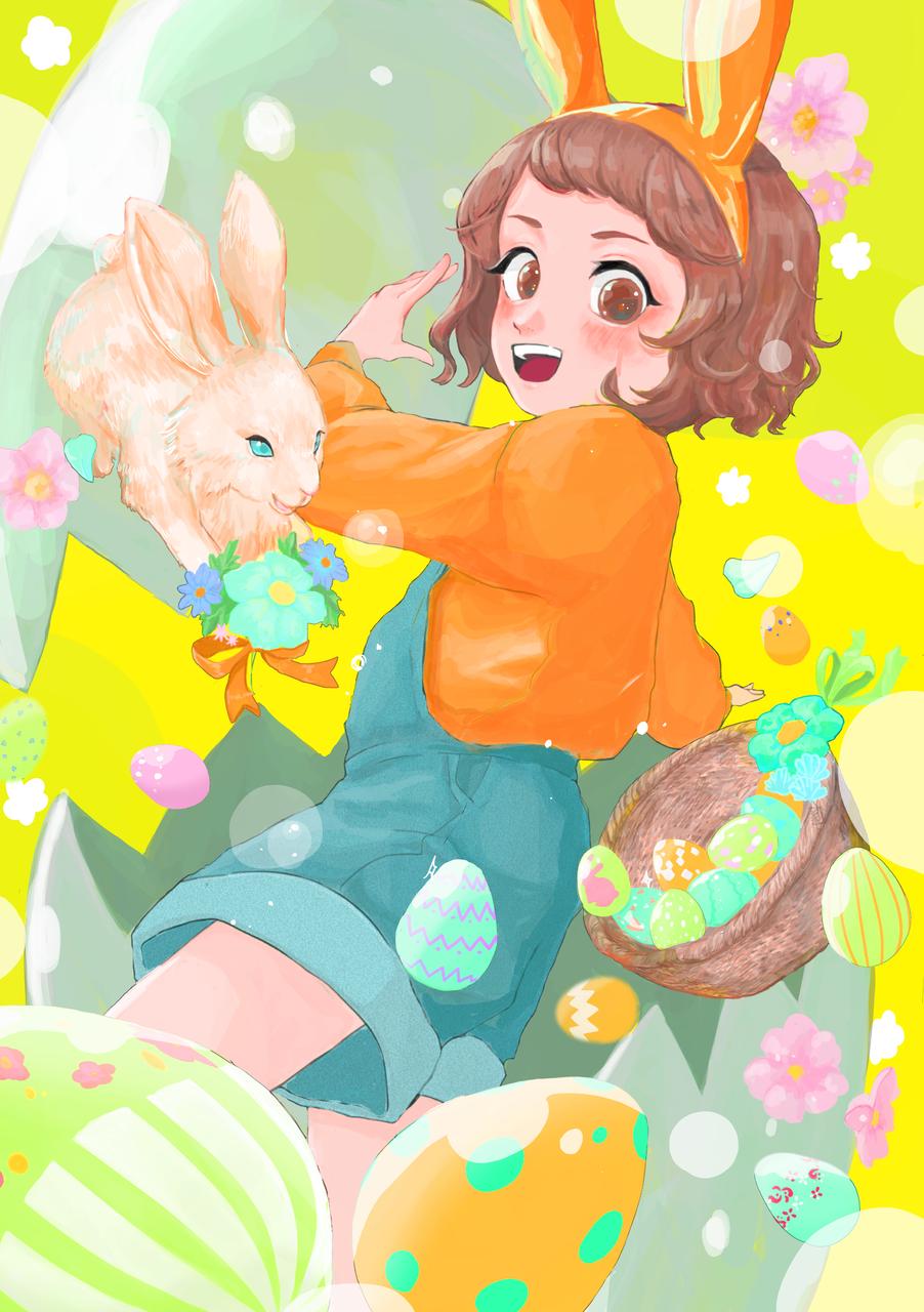 ぴかぴか Illust of sen March.2020Contest:Easter