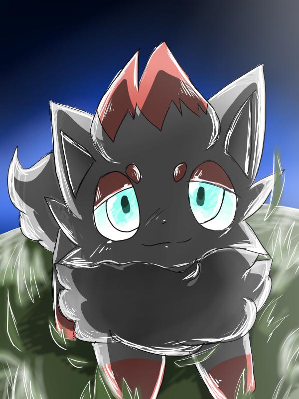 ゾロア Illust of 🐍アロ🎈✨ pokemon ゾロア