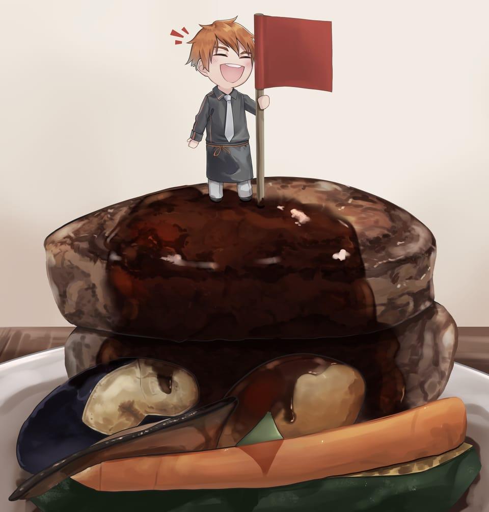 僕が作りました Illust of ネフラ October2020_Contest:Food food illustration oc