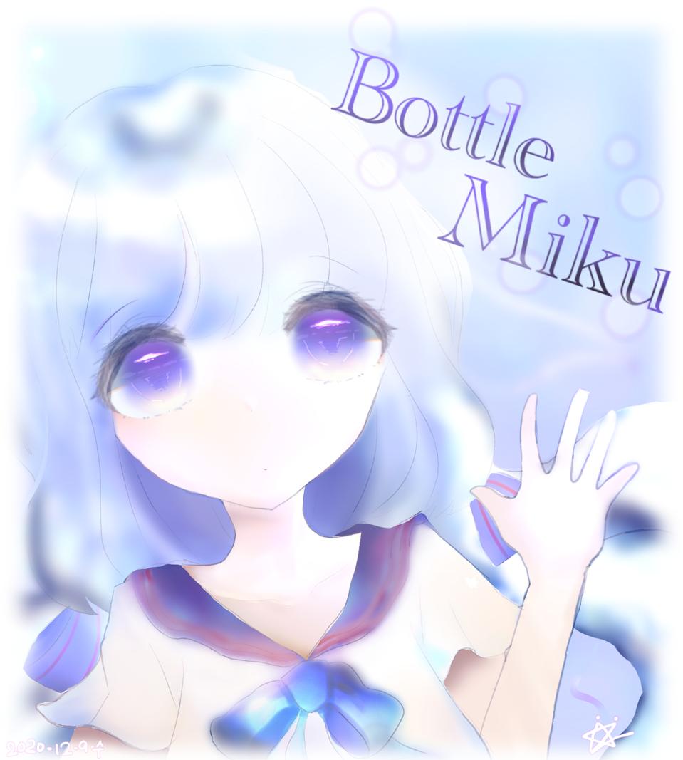 Bottle Miku Illust of 나로NARO 보틀미쿠 hatsunemiku medibangpaint
