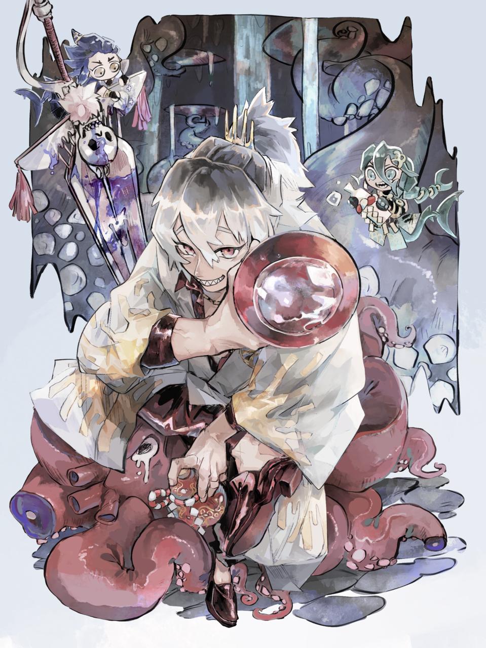 ワルだこ成敗! Illust of 塩ながす January2021_Contest:OC