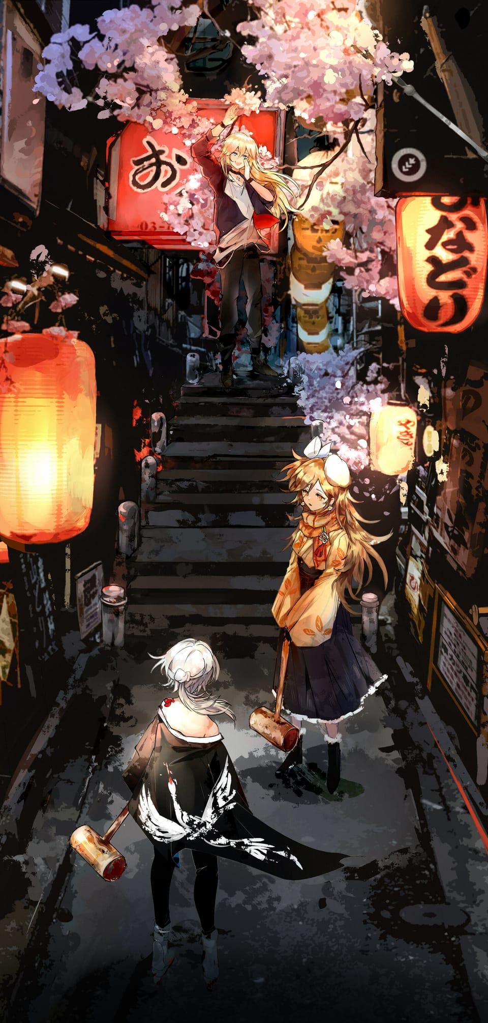 夜游 Illust of 空色春华 Kyoto_Award2021[illustration]