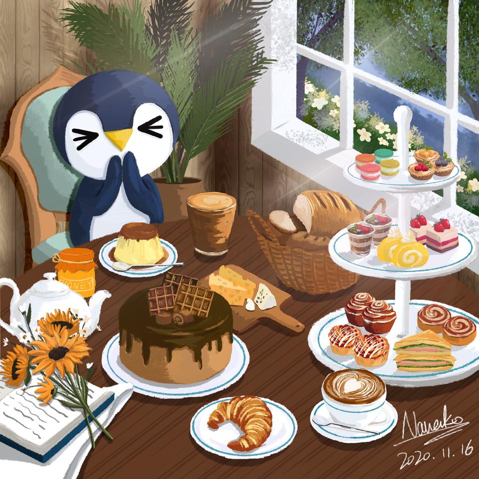小布冧的下午茶 Illust of NanakoChoi