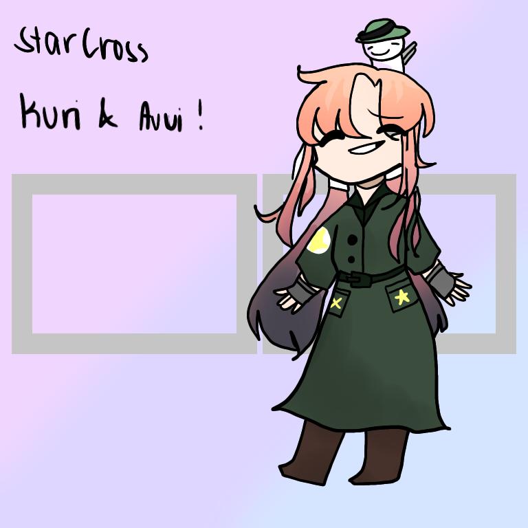 StarCross Kuri and Avui Illust of DreamiiKuri | Drèam mode©️ Starcross drawing oc