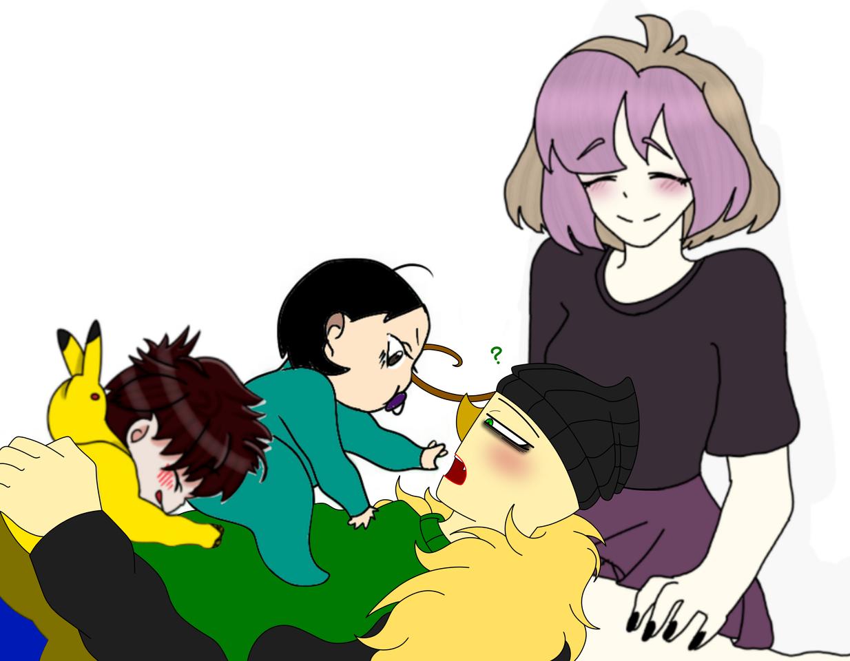 Collab with Kosai, Anna and PastelCutie ! Illust of ฿₳ⱠĐł ฿₳ⱠĐł₥ØⱤɆ medibangpaint