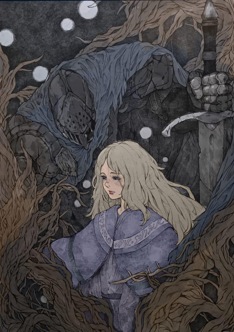 黃泉騎士 Illust of areuund February2021_Fantasy