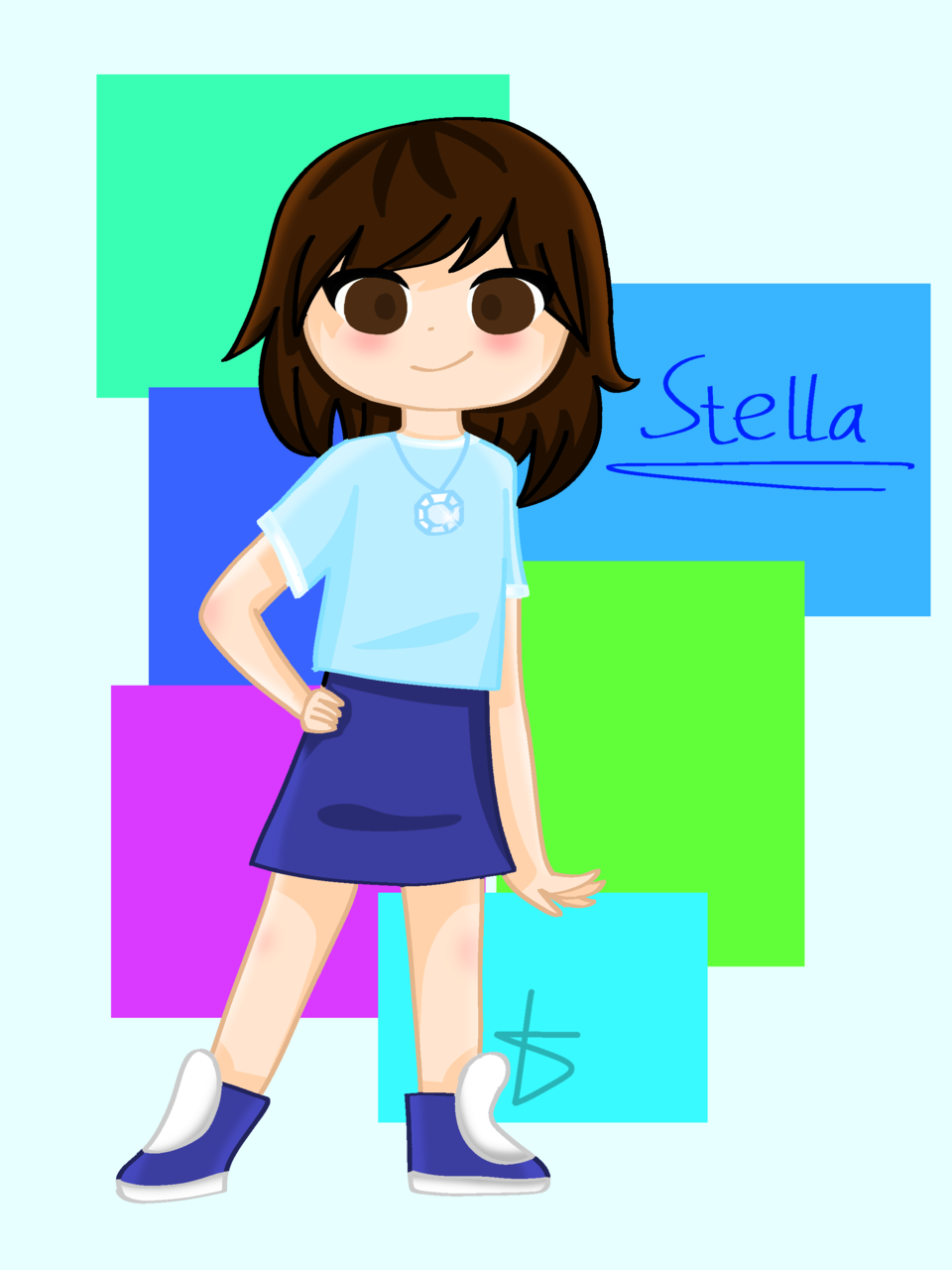 My new OC Stella