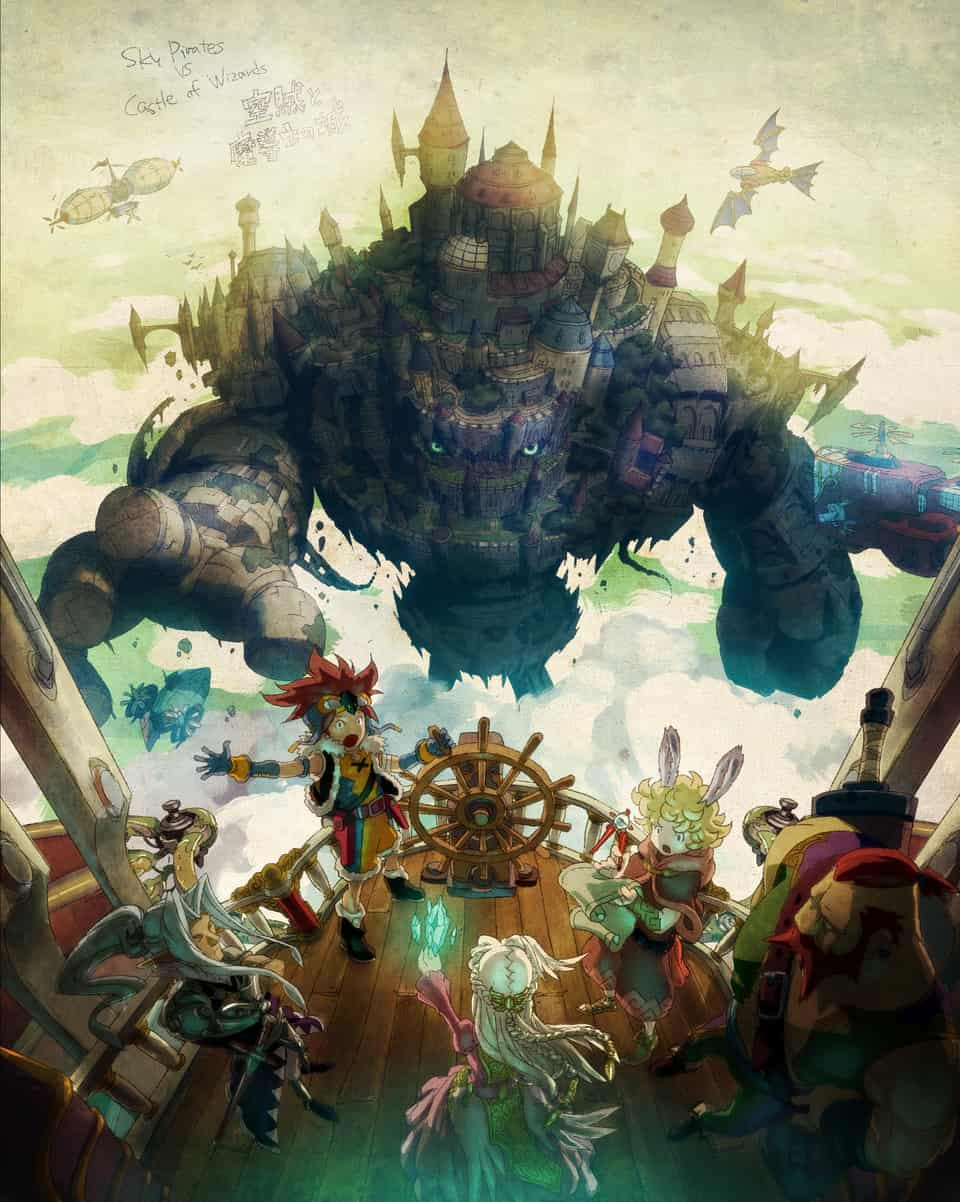 Sky Pirates Illust of ISA fantasy illustration ゲームアート gameart drawing Conceptart