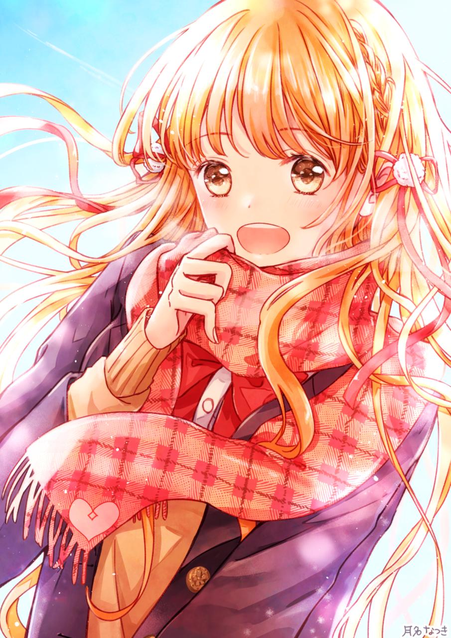 「一緒に帰ろう!」 Illust of 月名なつき original 高校生 girl