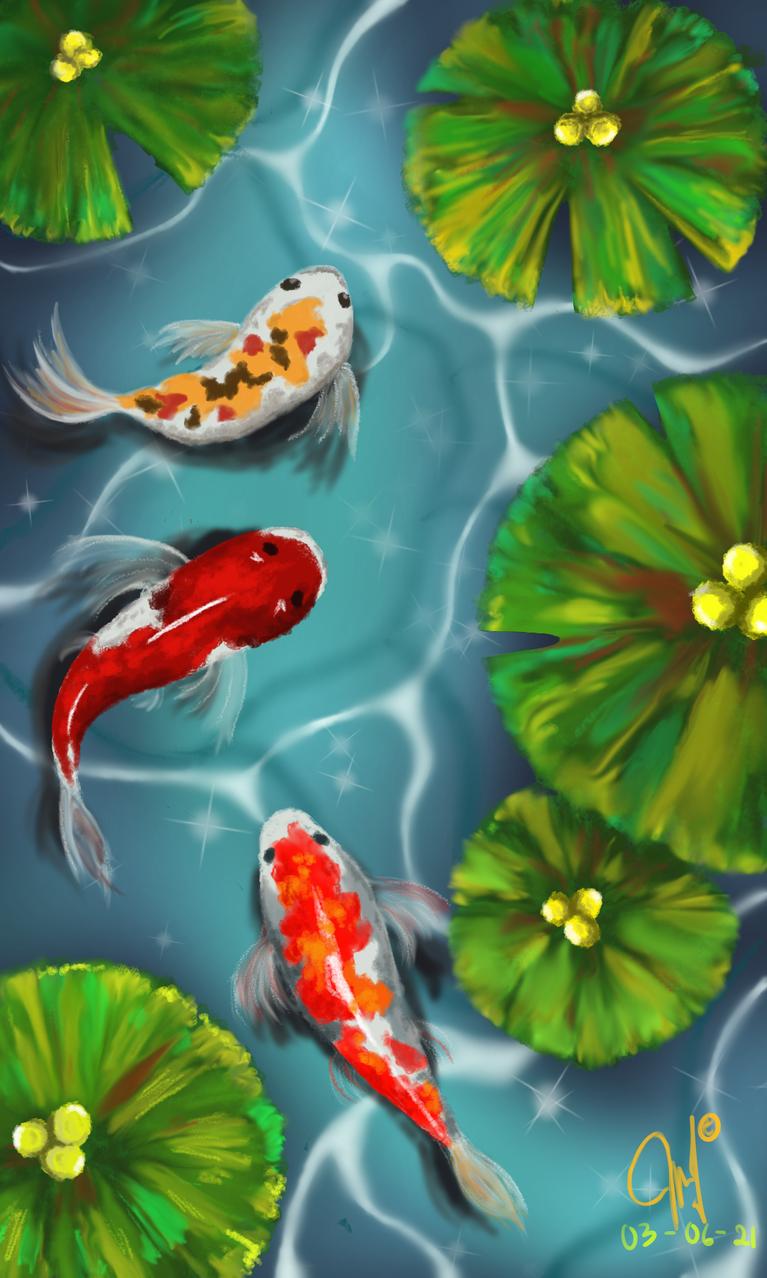 fish free Illust of 9501_E medibangpaint