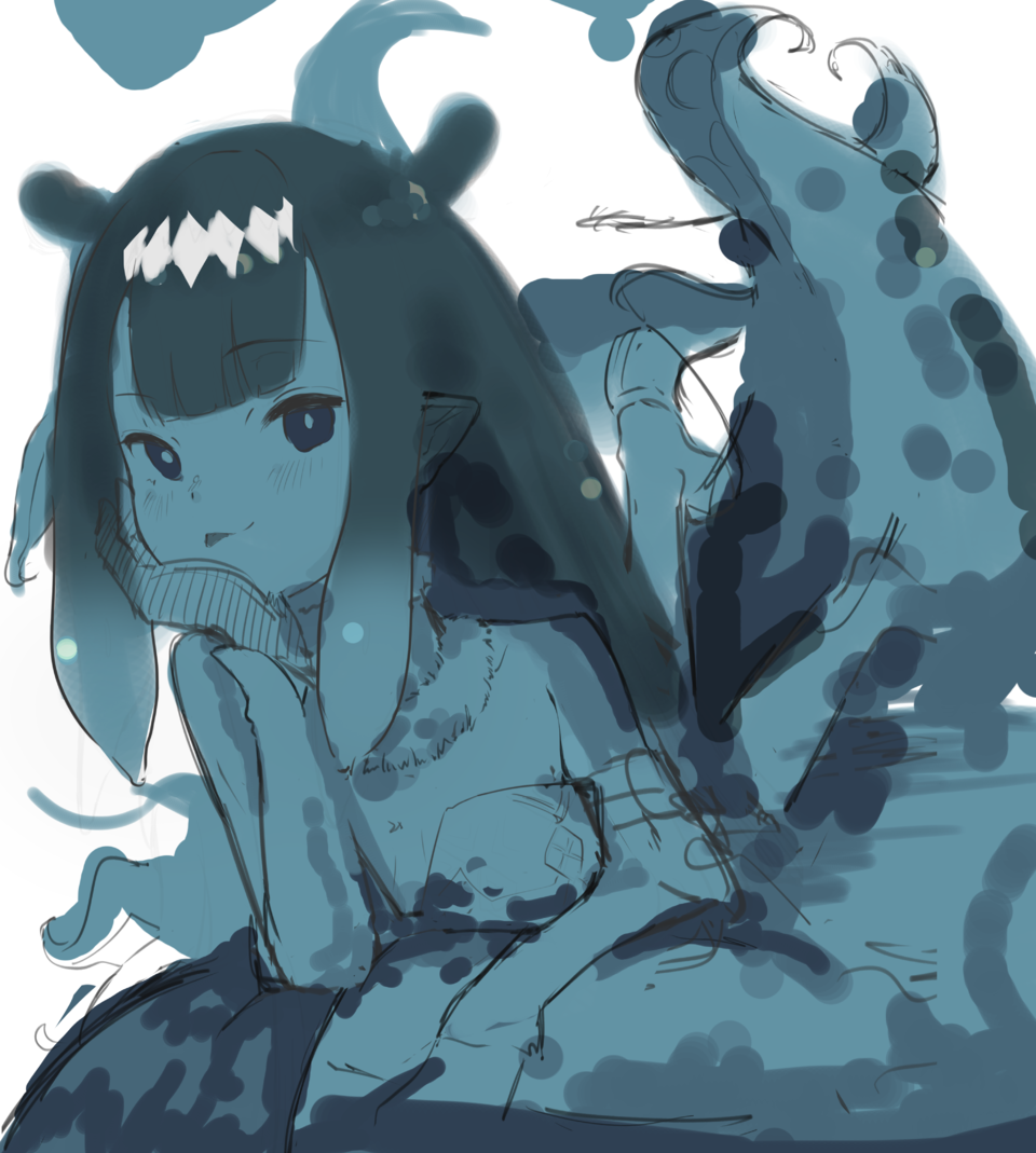 inart Illust of 馬(UMA) original girl oc おんなのこ illustration Illustrations イラストレーション