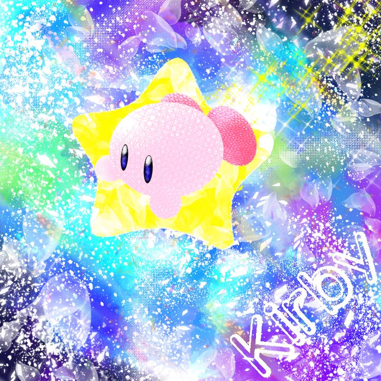 きらきらカービィ Illust of カンダラ Kirby'sDreamLand medibangpaint kawaii space
