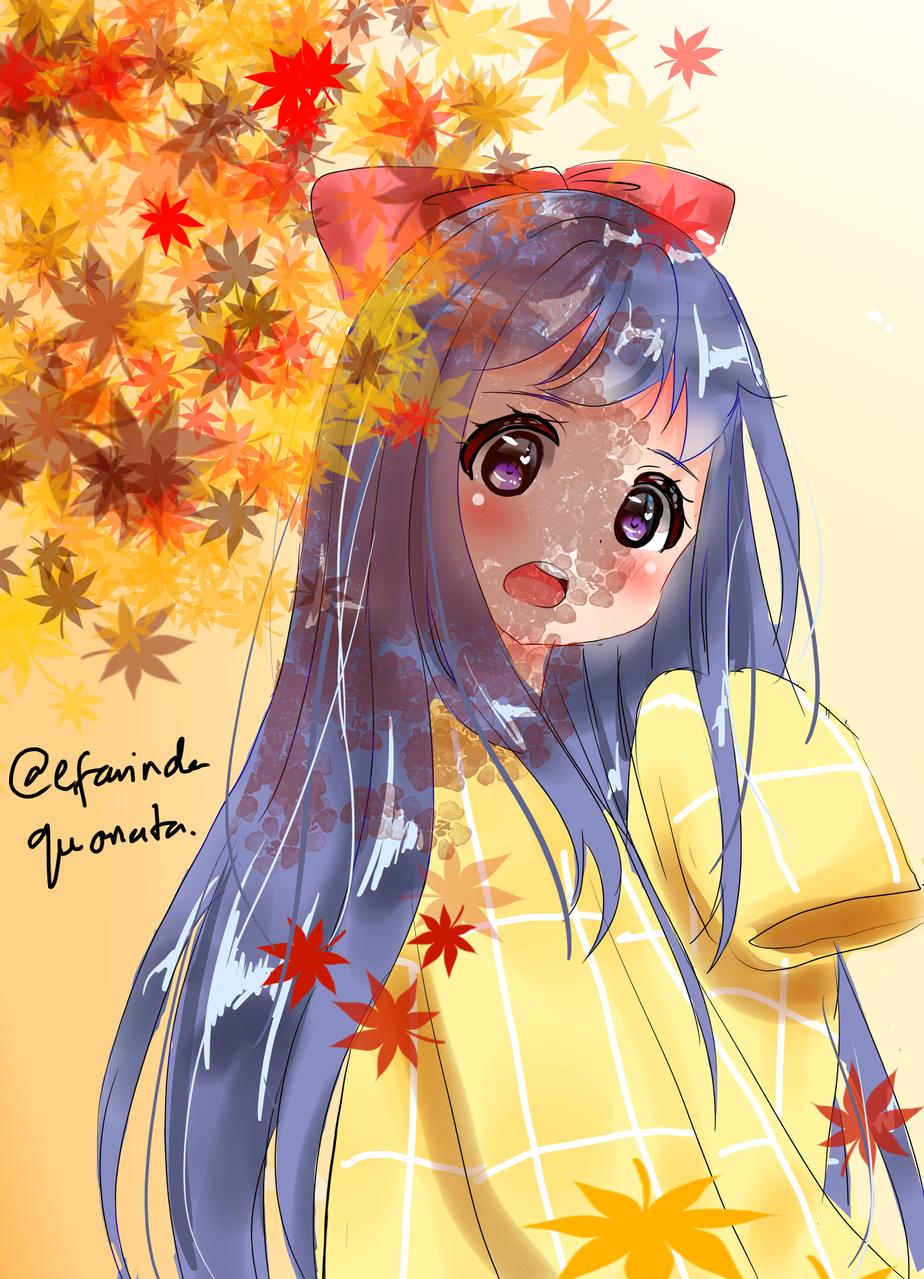 autumn Illust of efa medibangpaint