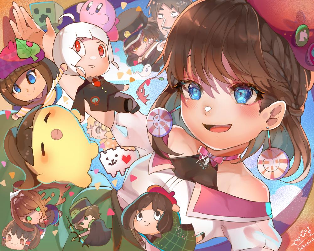 お絵かきって楽しい! Illust of でかぴよ kawaii girl character