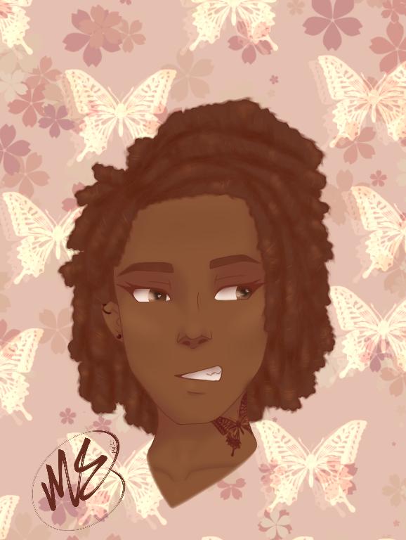 Ivy.... new oc Illust of fallen.dreamer drawing girl Ivy digital female oc