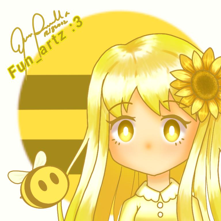 Yellow :3 Illust of Fun_artz :3 May2021_Monochrome art girl oc illustration Fun_artz:3