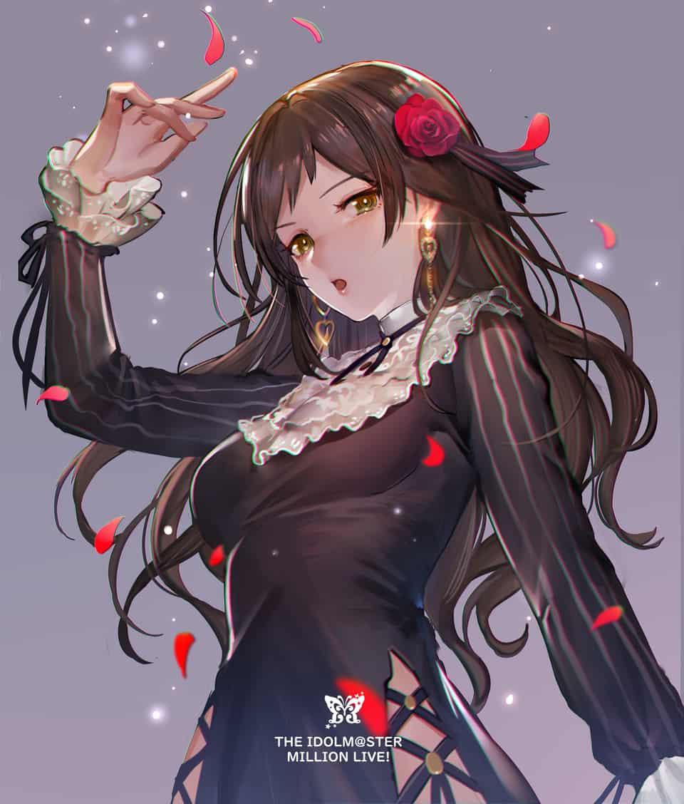 志保さん Illust of hanusu アイドルマスターミリオンライブ! TheIdolmaster ミリオンライブ! 北沢志保 北沢