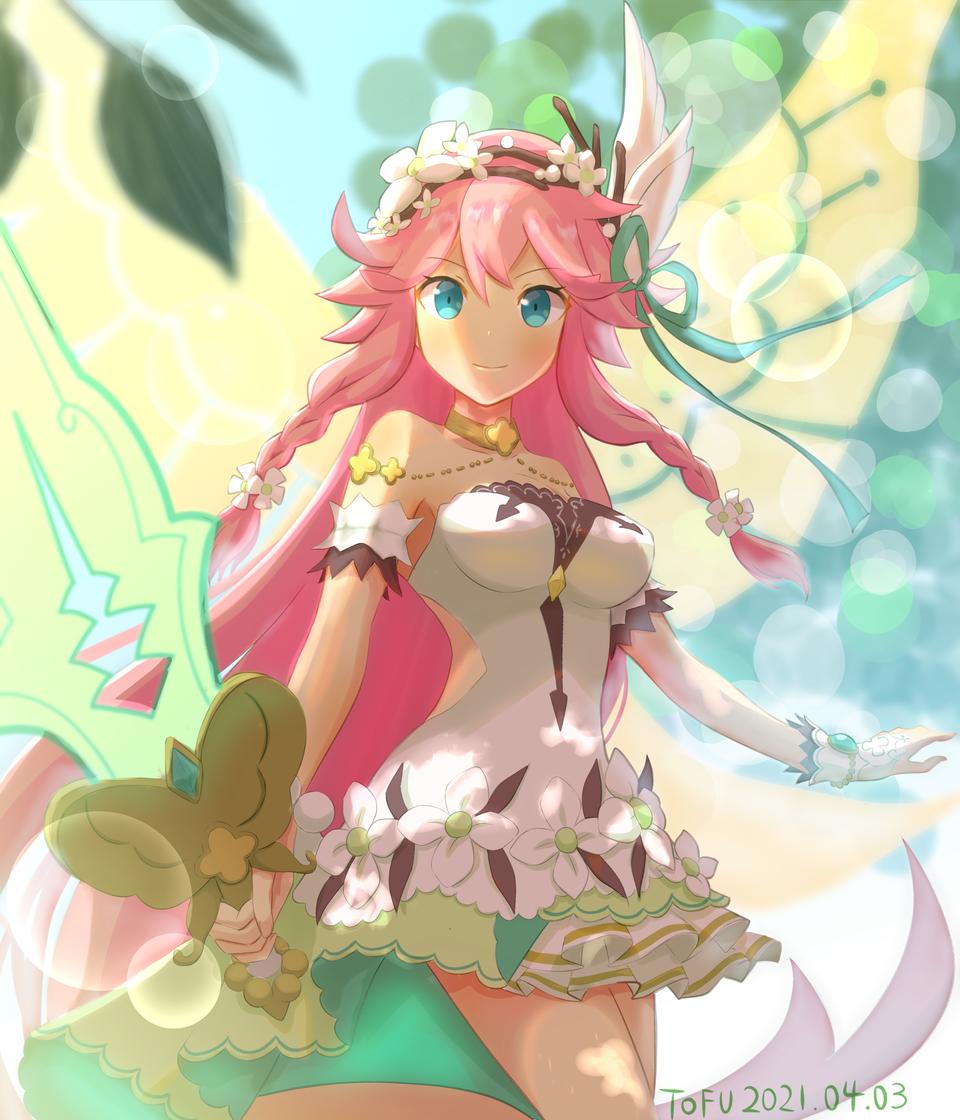 Gala Notte ナーム Illust of Silken Tofu DragaliaLost fairy pinkhair