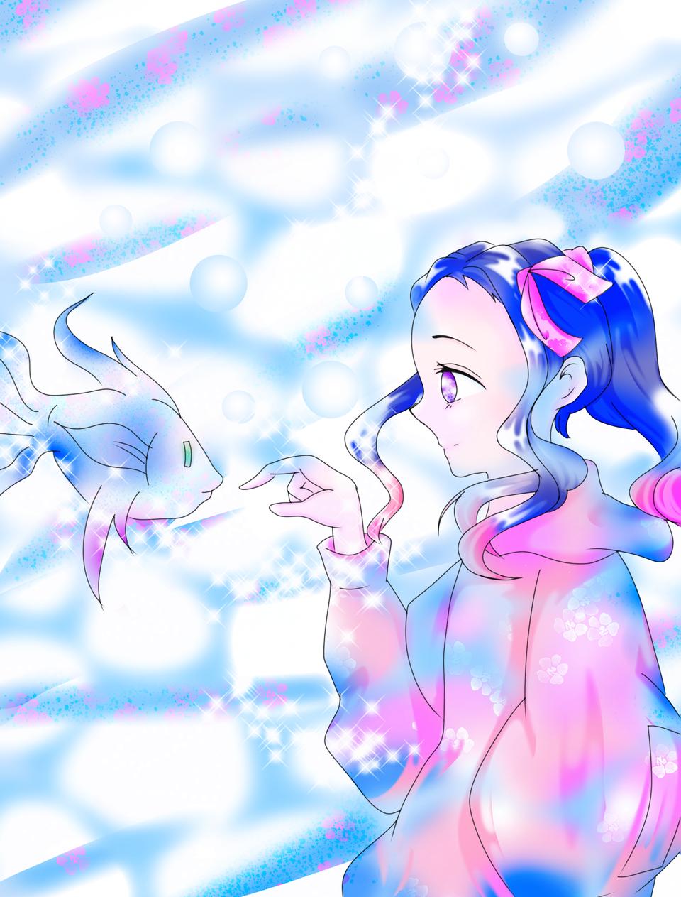 修正 UMI←さんの線画塗りましたヾ(●´∇`●)ノ Illust of りん🌸いつも眠いw KimetsunoYaiba