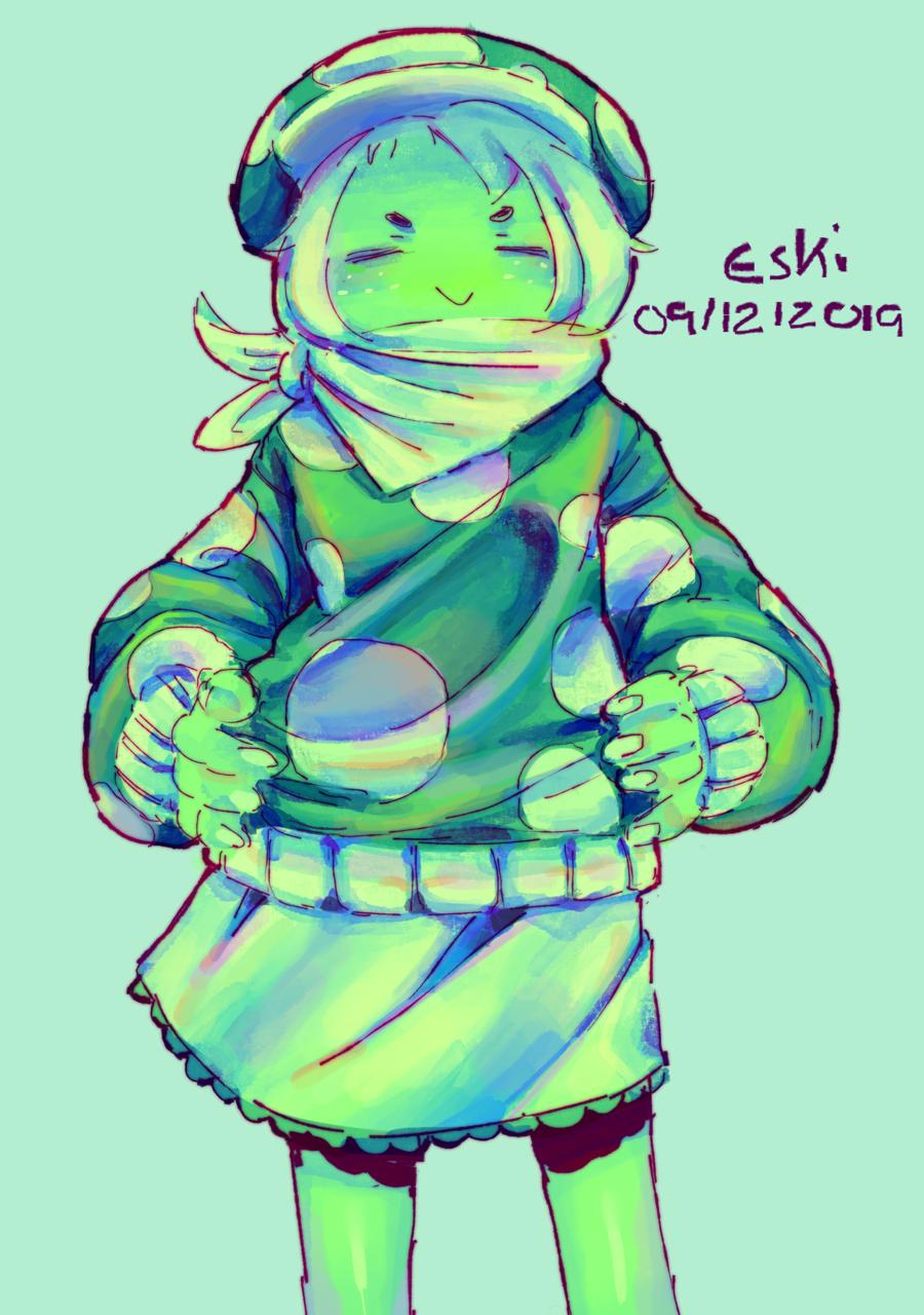 Day 709 Log 817 🍄 Illust of Eski oc CLIPSTUDIOPAINT twitch sketch IceLogs