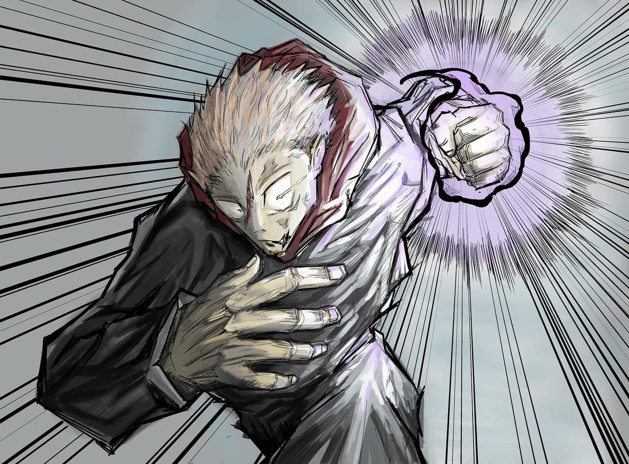 黒閃!!!! Illust of R小川 JujutsuKaisenFanartContest JujutsuKaisen