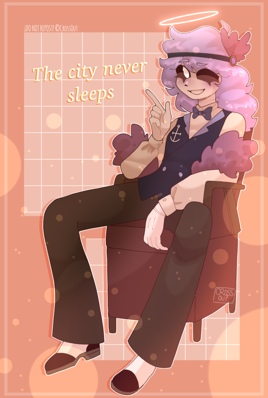 New Orleans Illust of CrossOut AU drawing oc