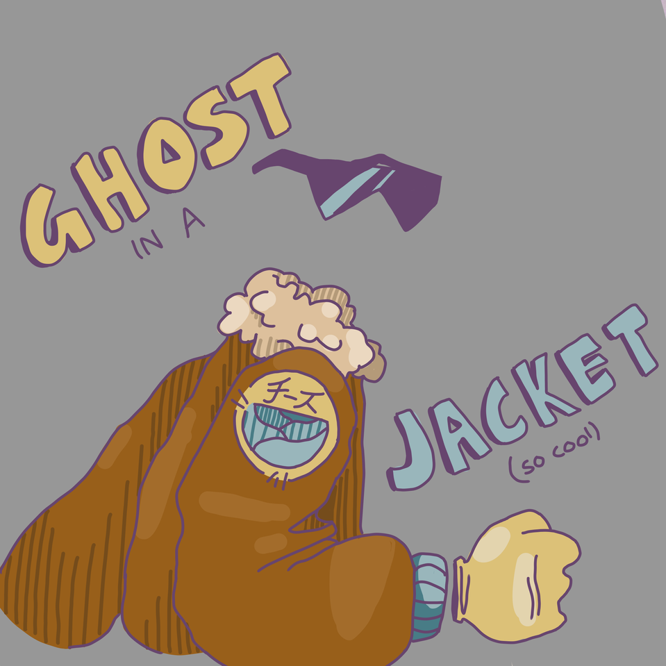 ghost in a jacket