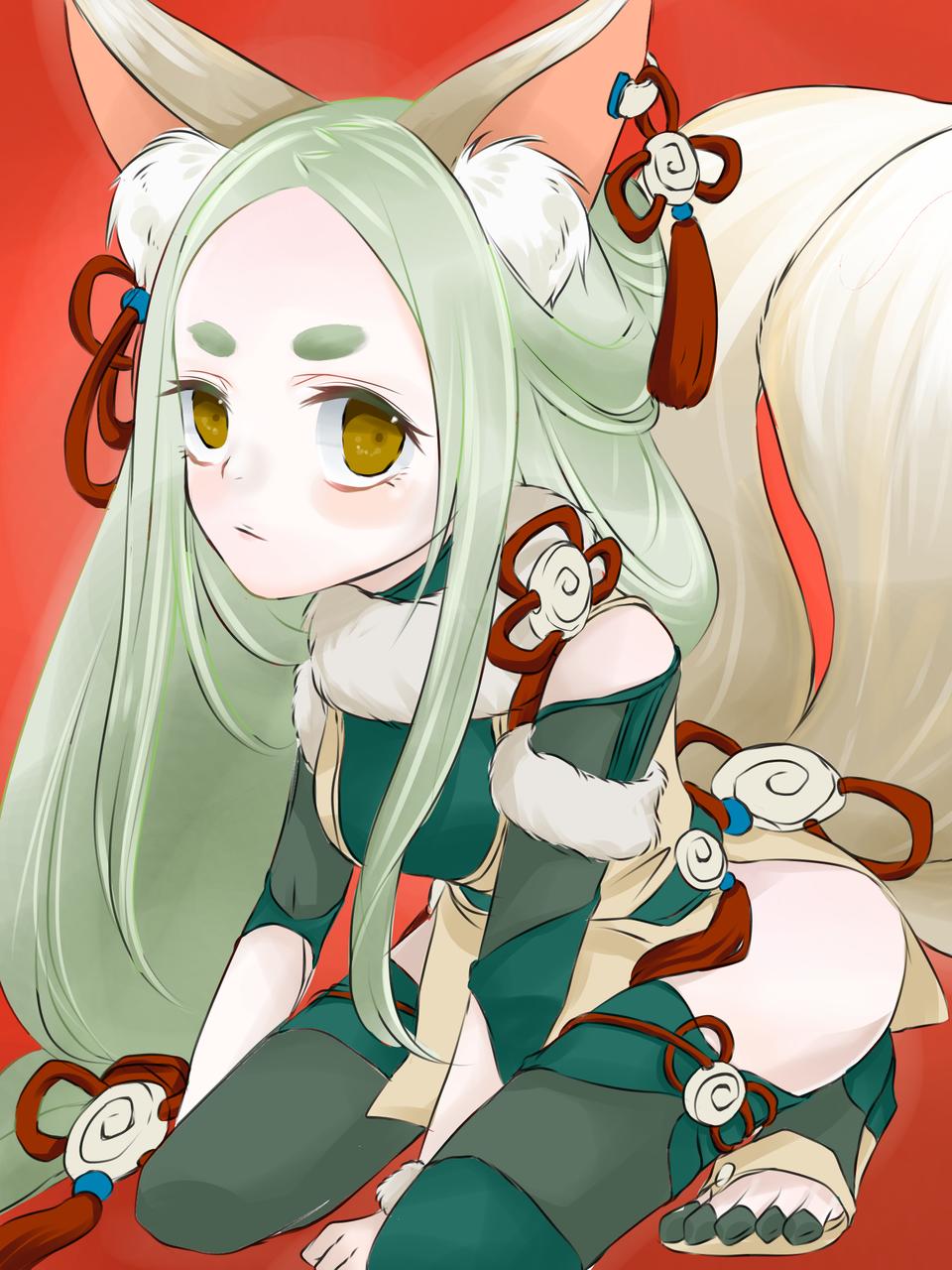 けもみみ Illust of hmk September2020_Contest:Furry medibangpaint animal_ears