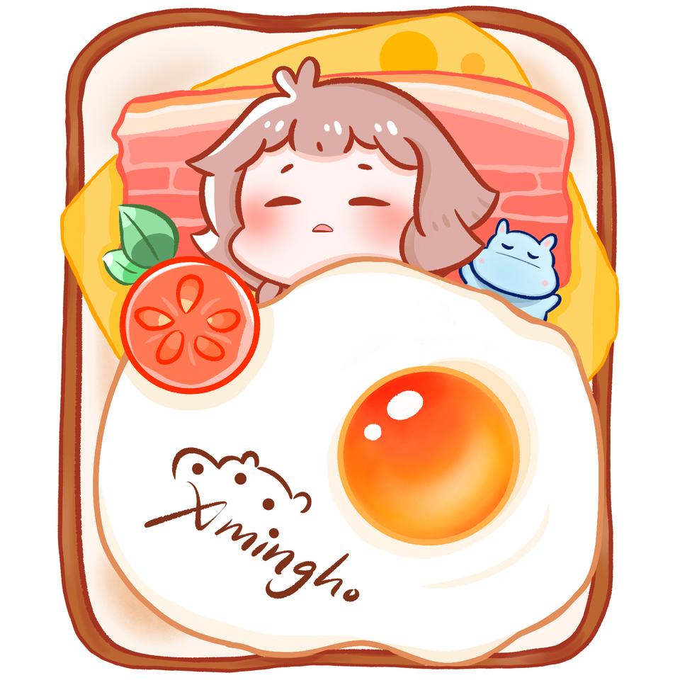 Bread Bed Illust of xming_ho medibangpaint