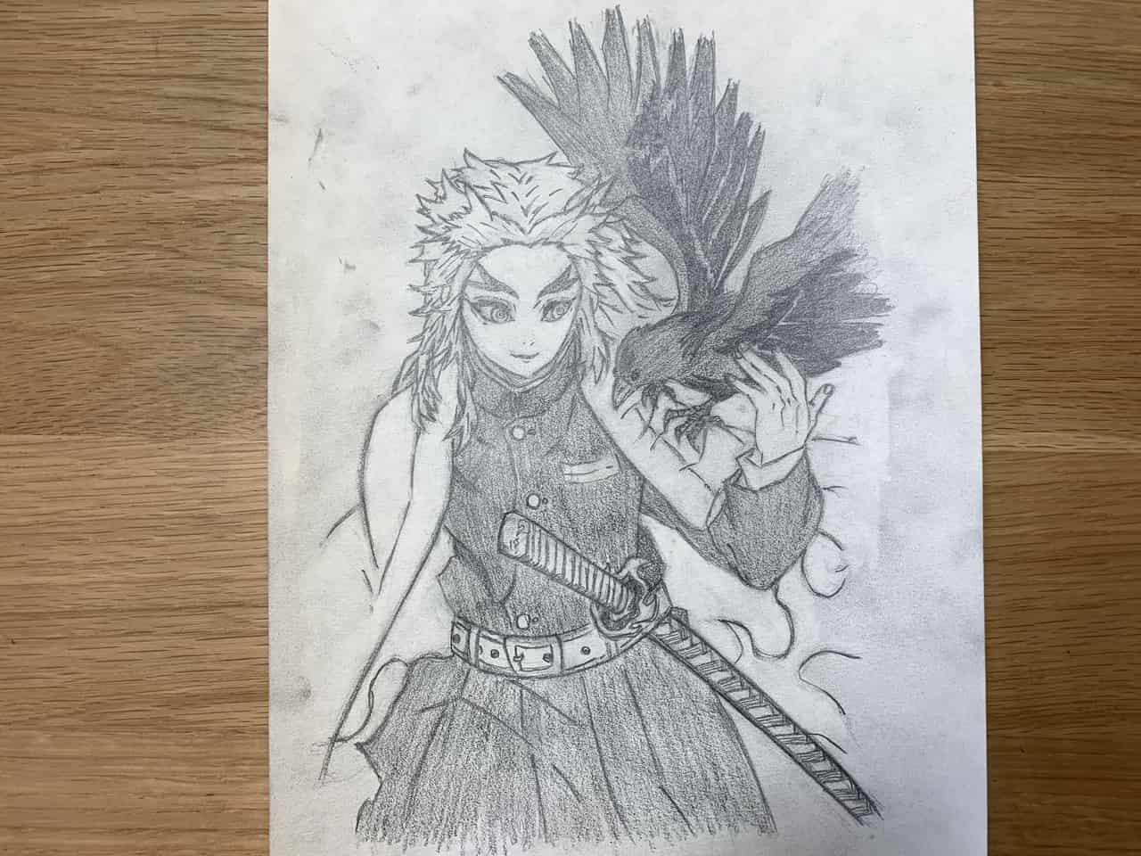 鬼滅の刃 煉獄杏寿郎 Illust of 那輝和 DemonSlayerFanartContest KimetsunoYaiba