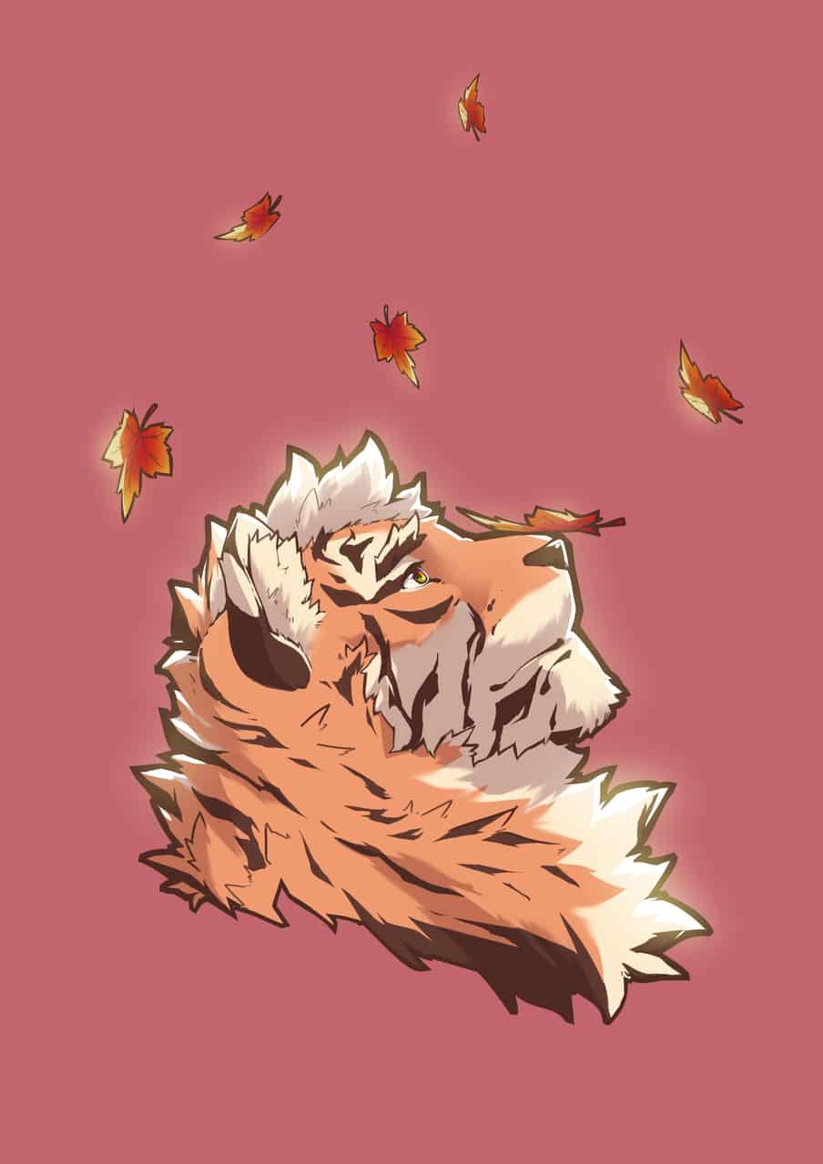 秋老虎 Illust of Yanxi September2020_Contest:Furry furry Tiger