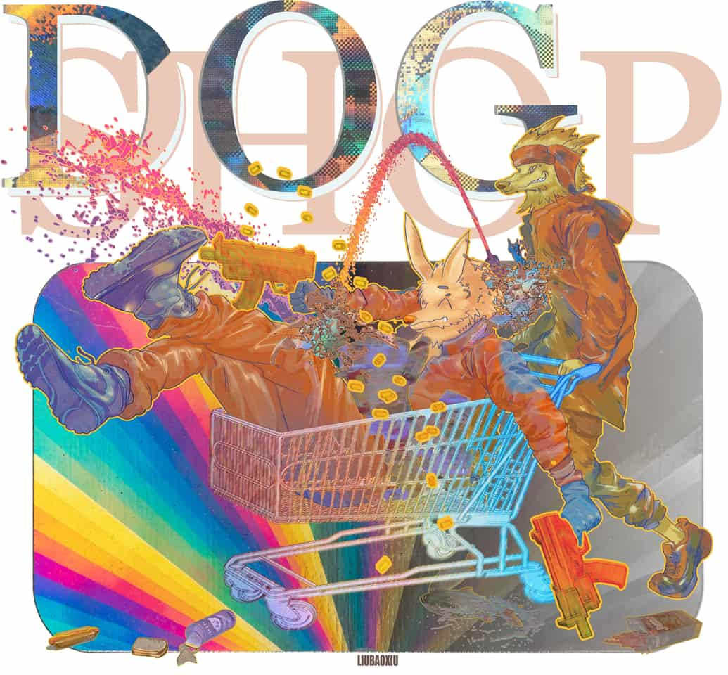 去购物啦! Illust of liubaoxiu DOGvsCAT_DOG dog