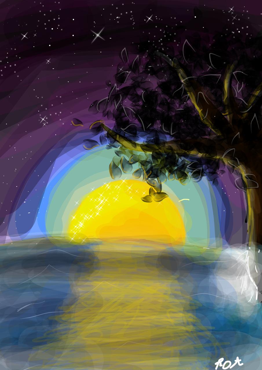 Illust of ..×M a r a i s×.. medibangpaint scenery