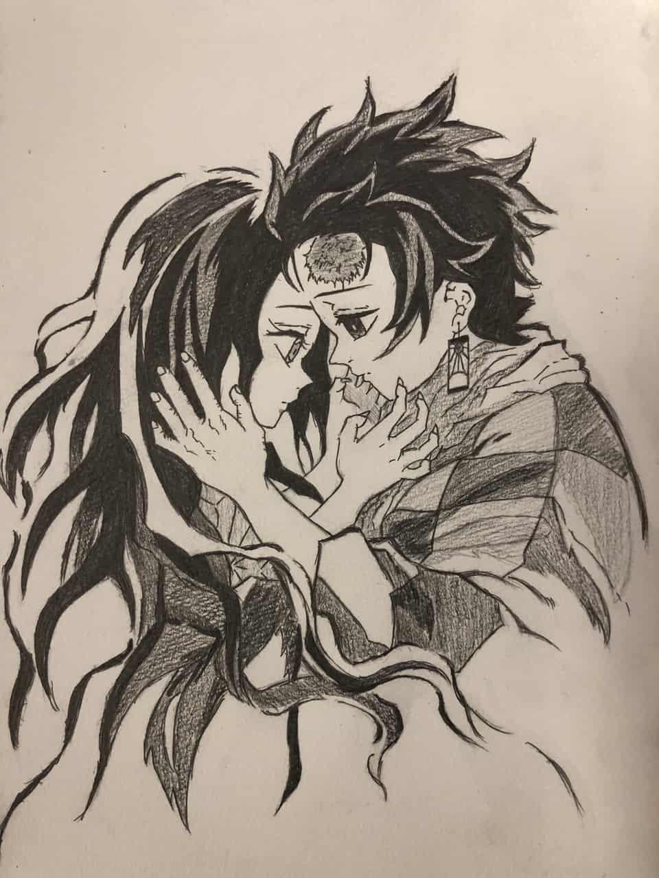 竈門炭治郎のうた Illust of shinya DemonSlayerFanartContest KamadoTanjirou KimetsunoYaiba KamadoNezuko
