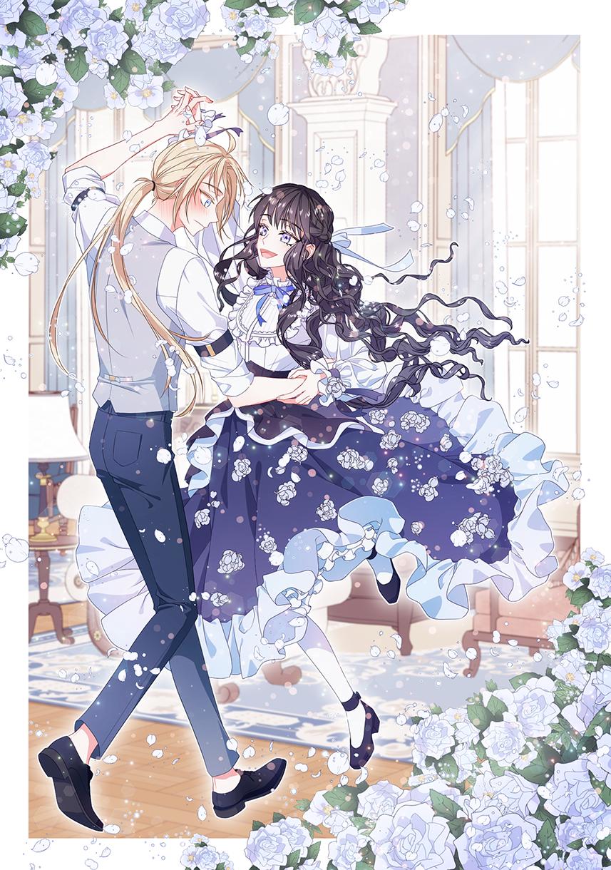 oc Illust of 십삼 illustration dance ダンス flower oc original girl skirt dress boy