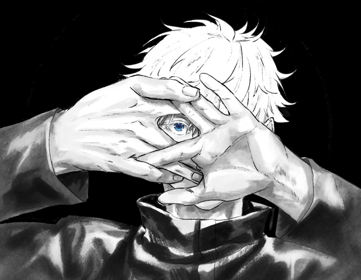 狐の窓 Illust of 薬味の浅葱 JujutsuKaisenFanartContest JujutsuKaisen 呪術廻戦ファンアート SatoruGojō
