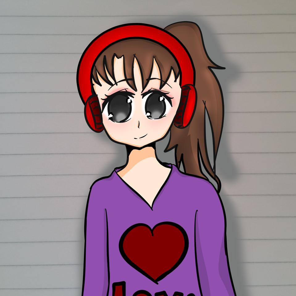 redraw :) Illust of Ra-chan medibangpaint ponytail girl animestyle