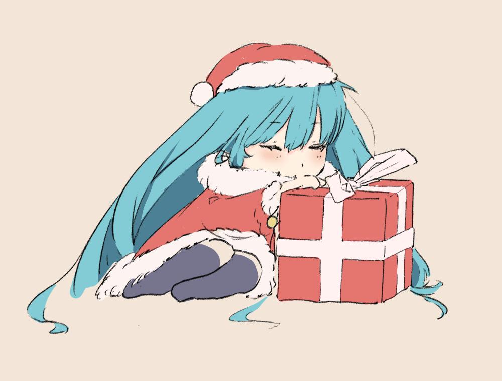 サンタさん Illust of 馬(UMA) Christmas original Illustrations girl サンタクロース oc おんなのこ illustration サンタ イラストレーション
