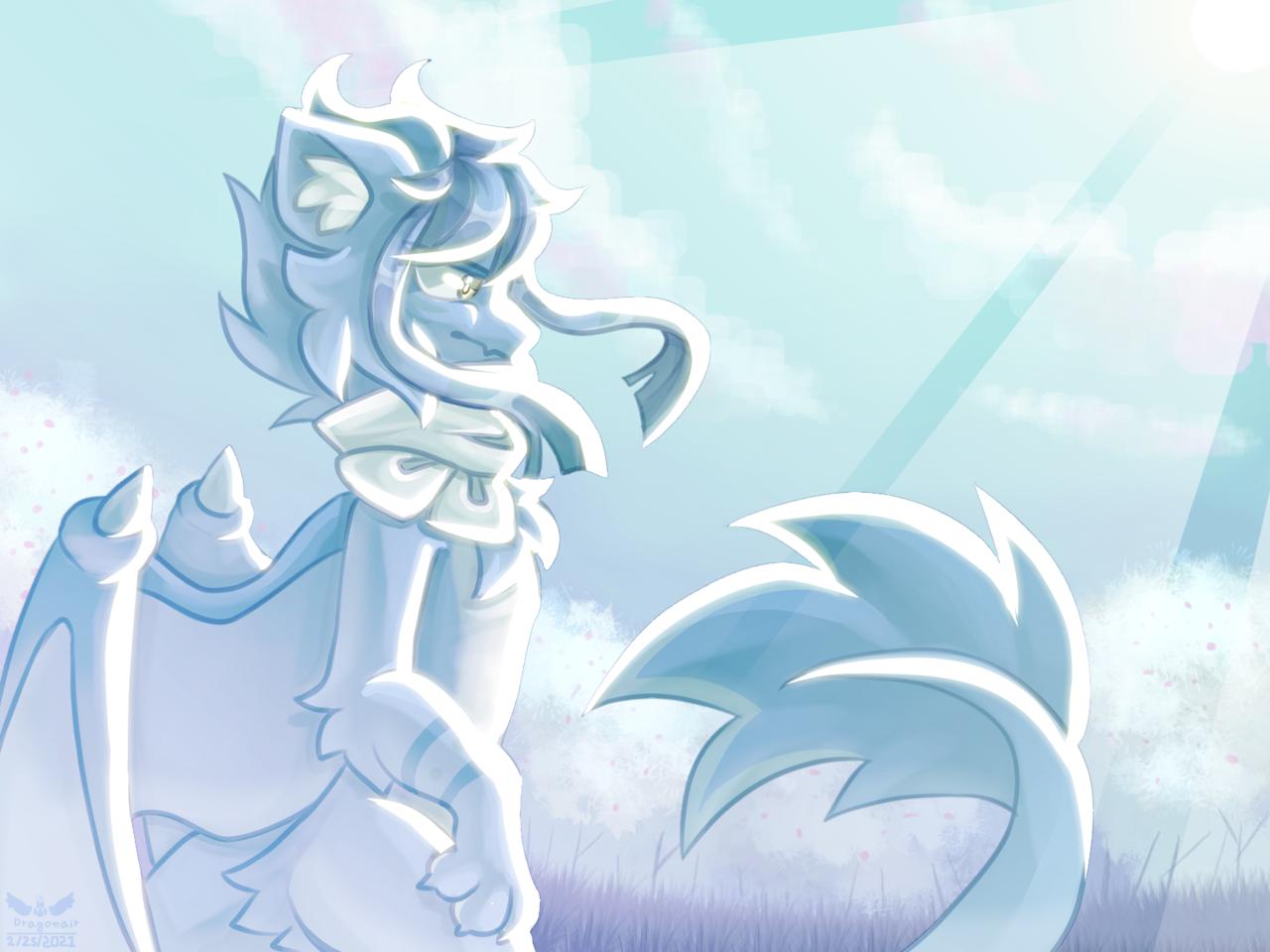 Request for Sonoid (read desc) Illust of Kdragonair medibangpaint request furry dragon