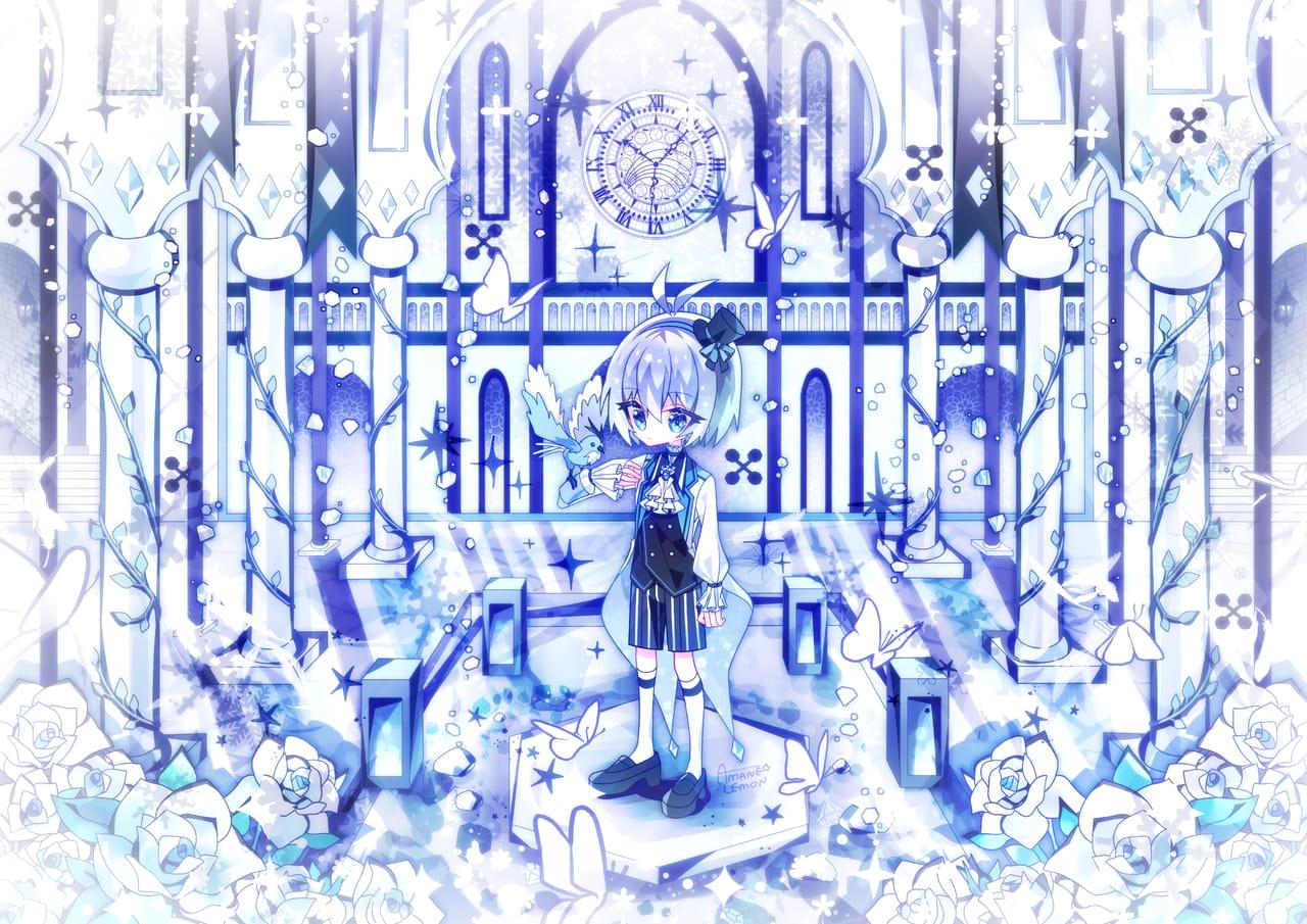 ice White Illust of 天音れもん original
