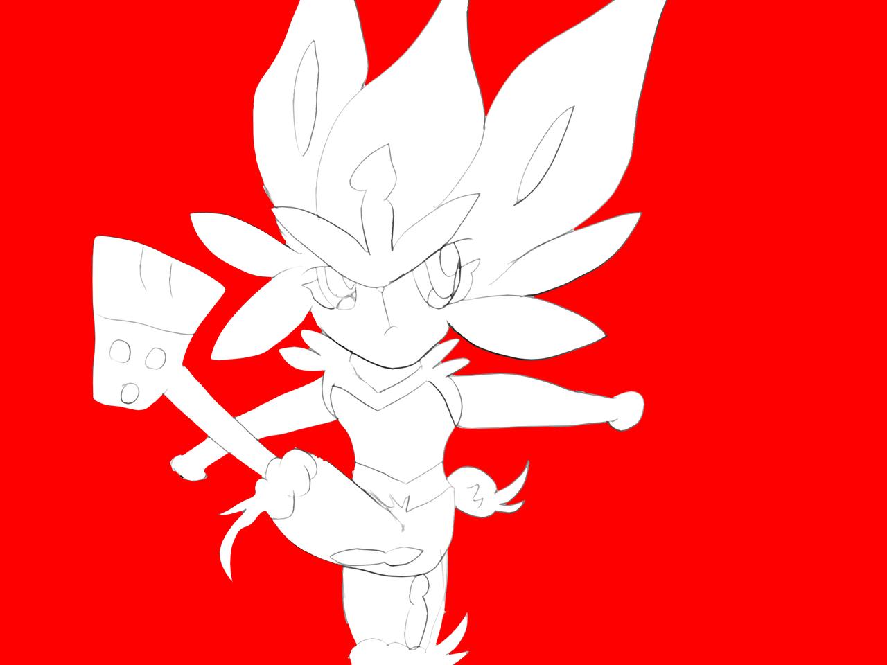 映画でカッコよかったエースバーン Illust of natsu medibangpaint pokemon