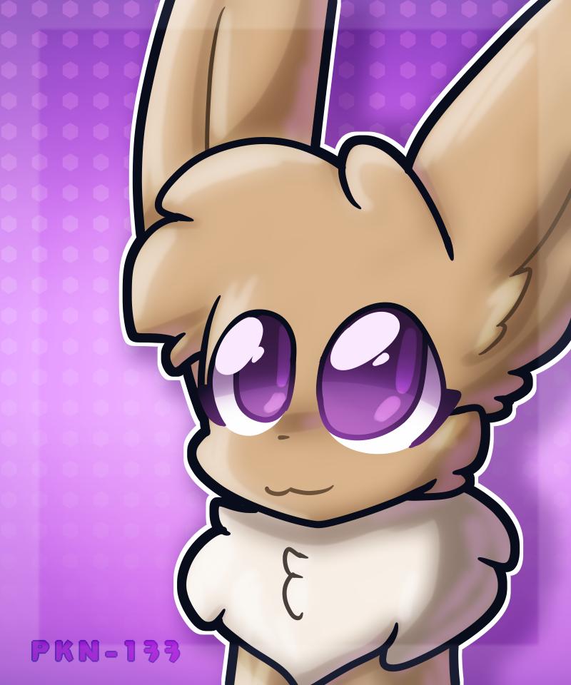 e Illust of ✨ PKN-133 ✨ pokemon cute furry oc PKN-133