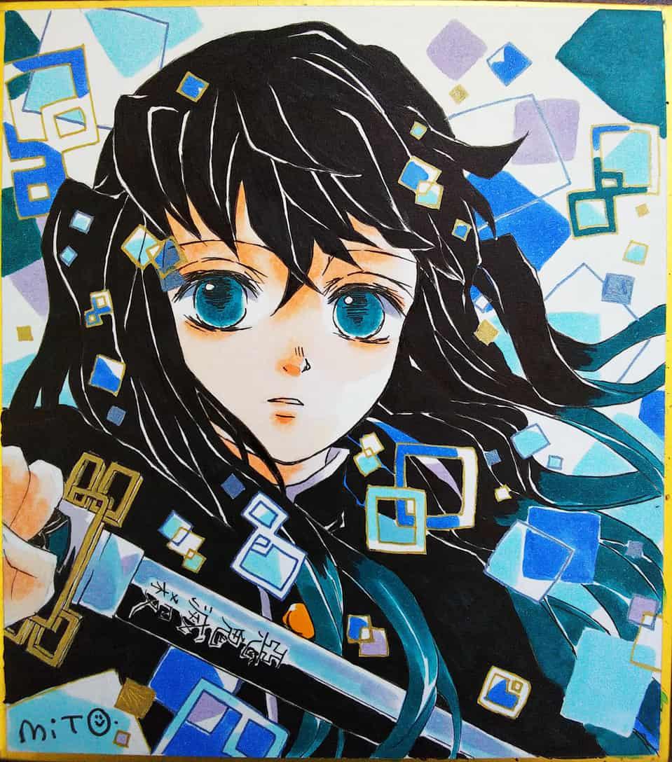 霞柱。 Illust of ミト DemonSlayerFanartContest KimetsunoYaiba TokitouMuichirou
