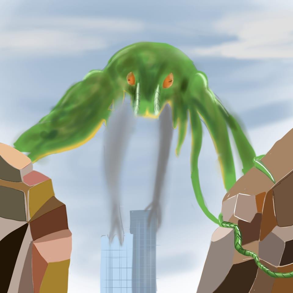 ヤマツカミ Illust of ma×2 ヤマツカミ monster MonsterHunter