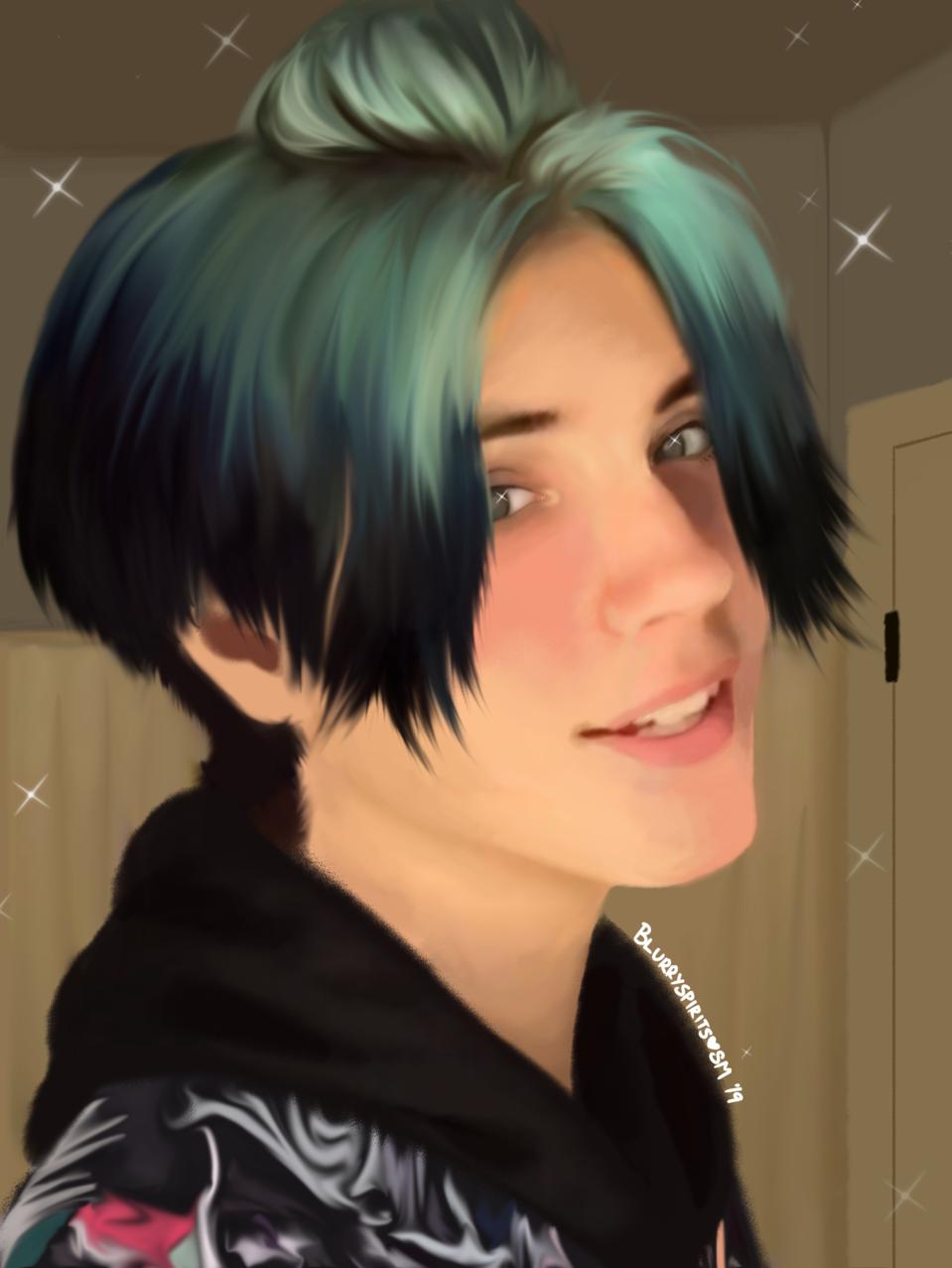 blue // noen